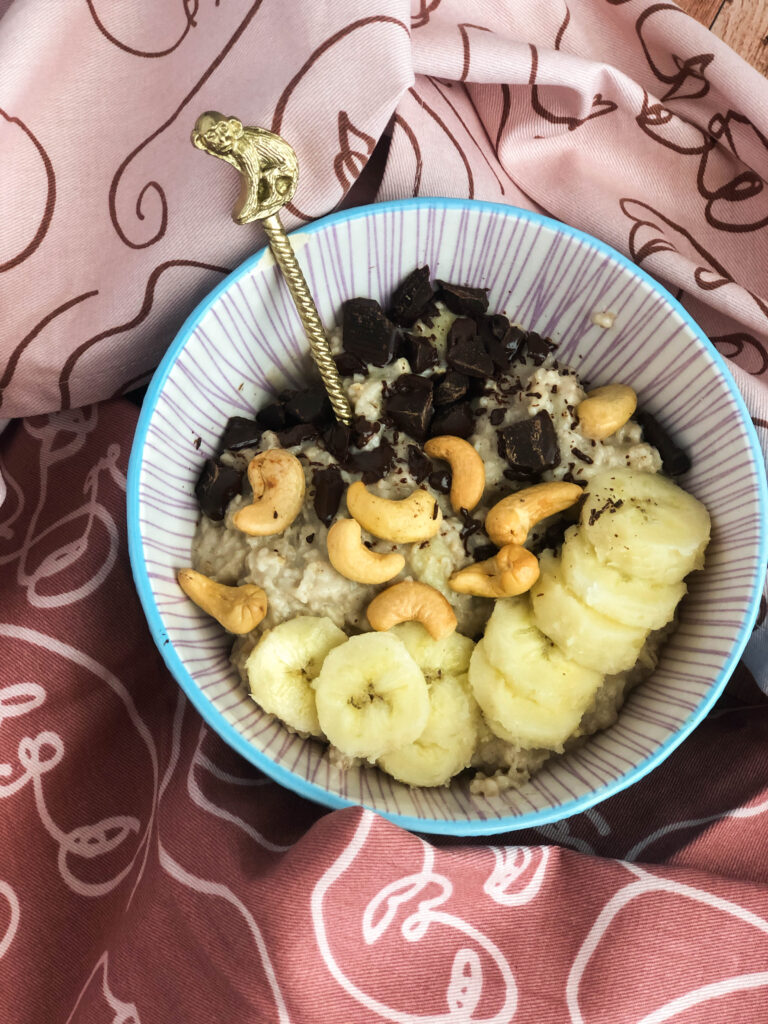Read more about the article Chunky monkey oatmeal