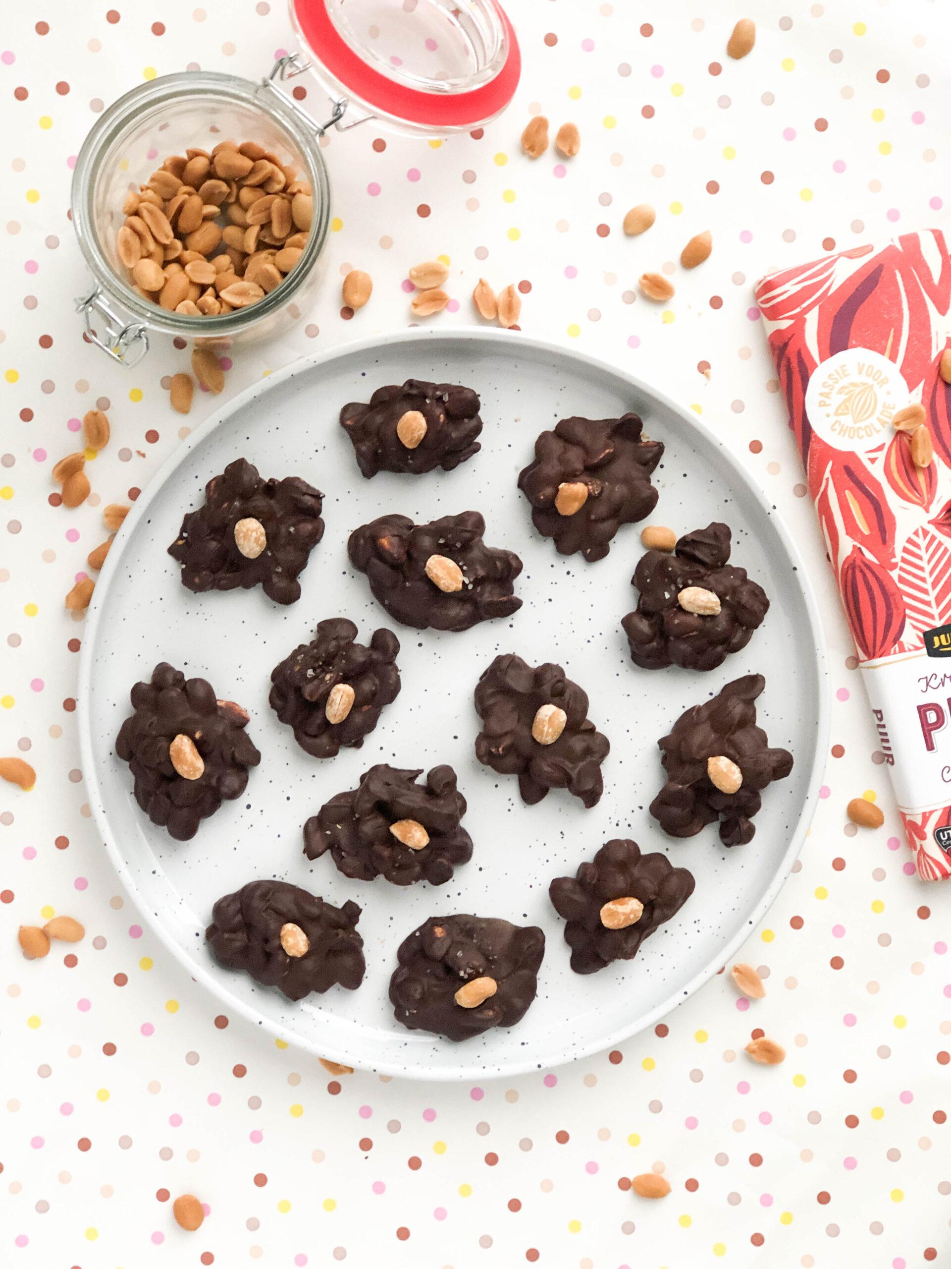 Read more about the article Chocolade, caramel, zeezout pindarotsjes